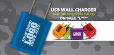 The Executive Advertising - Promotional Products Blog: Flash Your Logo With Our Custom USB Wall Chargers