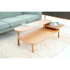 Coffee Table, Simple, Home Interior, Rug, Mint, Wood, Mid Century