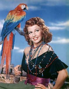 Rita Hayworth - Basically, I am a good, gentle person, but I`m attracted to mean personalities.