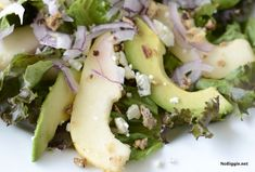 You just can't go wrong with this gorgonzola pear salad. Fresh pears, gorgonzola cheese and candied pecans plus a homemade dressing you make fresh.