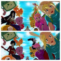 Anime adventure time