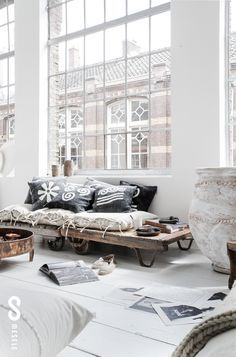 Why not to get Scandinavian style to you home? Use fur, light colors, and lots of wood. See more Scandinavian Home Design Ideas at www.