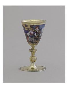 Gobelet sur pied - Musée national de la Renaissance (Ecouen)