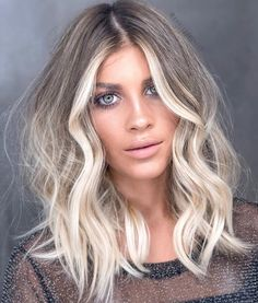 Fresean Summer Series Short Wavy Ombre Platinum Blonde Hair – Welcome My World Balayage Blond, Blonde Ombre Hair, Blonde Hair With Dark Eyebrows, Blonde Hair For Pale Skin, Hazel Eyes Hair Color, Cool Toned Blonde Hair, Fall Blonde Hair Color, Winter Blonde, Blonde Hair With Roots