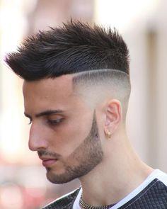 Stylish Haircuts for men 2019 - Haircuts Ideen Top Haircuts For Men, Cool Mens Haircuts, Stylish Haircuts, Popular Haircuts, Medium Haircuts, Skin Fade Hairstyle, Undercut Hairstyles, Down Hairstyles, Updos Hairstyle