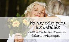 ¡No hay edad para los detalles! #floresjacque #floresadomicilio #domiciliosgratis #floresenmedellin #Floristerías #elamornotieneedad