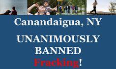Fracking banned.