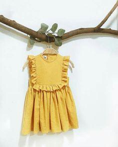 Toddler Dress, Baby Dress, Toddler Girl, Cute Kids Fashion, Baby Girl Fashion, Moda Kids, Baby Girl Patterns, Stylish Kids, Little Girl Dresses