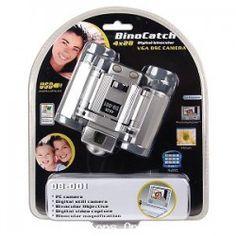 BinoCatch 4x28 Digital USB Binoculars w/Cam and Video