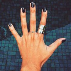 Svarta naglar!