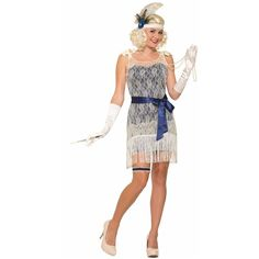 Gold Coast Socialite Costume and other apparel, accessories and trends. Browse and shop related looks.
