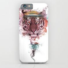 Tiger - Spirit Animal Art Print by Framed Art Prints, Fine Art Prints, Canvas Prints, Tiger Spirit Animal, Tiger Art, Ipod Cases, Duvet Covers, Digital Art, Throw Pillows