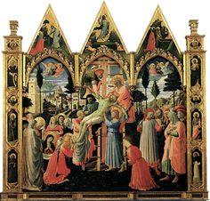Descendimiento de la Cruz, hacia 1443, Fra Angelico, Florencia, Museo di San Marco