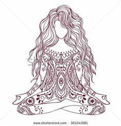 Mandala Coloring Pages, Colouring Pages, Mandala Drawing, Mandala Art, Body Art Tattoos, I Tattoo, Chakra Tattoo, Tatoos, Meditation Tattoo