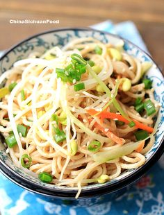 #Sesame Cold #Noodles sesame paste can be replaced with peanut paste