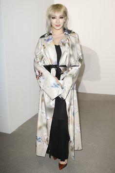 CL - Calvin Klein Collection Fall 2016 Ready-to-Wear Fashion Show Front Row
