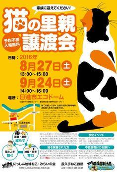 里親さんブログ本日休業 譲渡会のお知らせと写真のみ - http://iyaiya.jp/cat/archives/79210