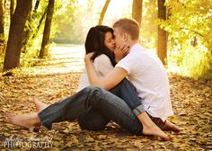 Swoon.  Fall Engagements  Jaclyn Heward Photography