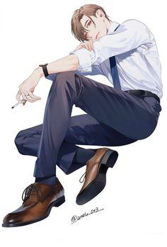(1) ホーム / Twitter Anime Boys, Hot Anime Guys, Manga Boy, Male Character, Anime Boy Zeichnung, Anime Poses Reference, Digital Painting Tutorials, Handsome Anime Guys, Boy Poses