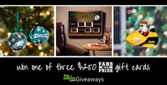 FANS WITH PRIDE GIVEAWAY: WIN 1 OF 3 $250 E-GIFT CODES
