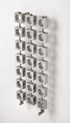 Aeon Lokum Designer Radiator Stainless Steel X Gates, Art Nouveau, Bathroom Radiators, Designer Radiator, Towel Rail, Brushed Stainless Steel, Decoration, Flooring, Home