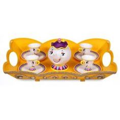 DisneyStore Beauty and the Beast Talking Tea Set Found on my new favorite app Dote Shopping #DoteApp #Shopping
