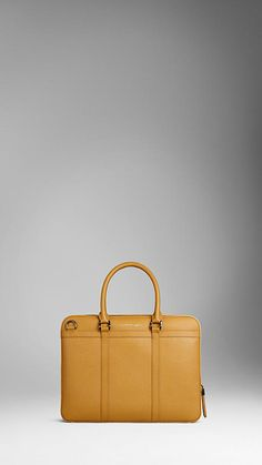 Lovely yellow briefcase