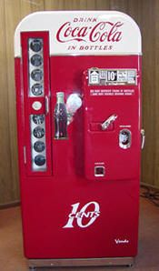 Restored Vintage Soda Machines : Coke, Pepsi, 7up, RC Cola