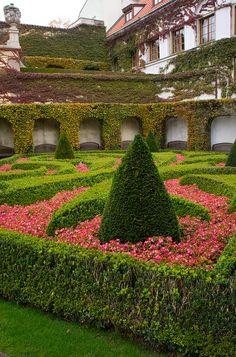 The Vrtbovska Garden, Prague, Czech Republic