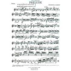 Gershwin, George - Preludes - Violin and Piano - transcribed by Jascha Heifetz - Alfred Music Publishing | Shar Music - sharmusic.com