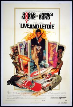 LIVE AND LET DIE (James Bond) Movie Poster (1973) || ACTION / ADVENTURE Movie Posters   @ FilmPosters.Com - Vintage Movie Posters and More