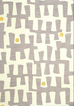 Berbeck Fabric Linen Union Berbeck linen fabric is a fresh contemporary design with mauve organic shapes printed on a natural cloth.