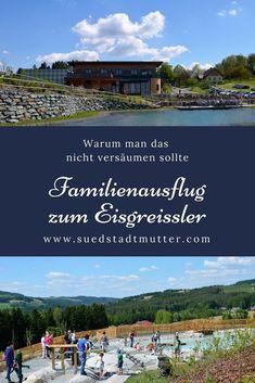 Familienausflug zum Eisgreissler - sehr empfehlenswert Ausflugstipp Niederösterreich Ausflug mit Familie in Österreich mit Spielplatz, Streichelzoo, Riesenrutsche Europe, Petting Zoo, Hiking With Kids, Playground, Travel Report, Road Trip Destinations, Tours