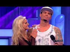 """Dancing On Ice 2011. Vanilla Ice & Katie Elizabeth Stainsby skating to """"ICE ICE BABY"""""""