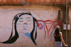 Esboço-Grafitte Feminino Arte urbana Zi Reis- 2016 Mulher