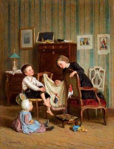 Children.with dolls