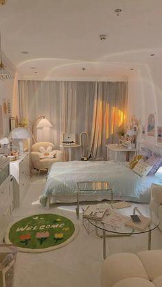Room Design Bedroom, Room Ideas Bedroom, Bedroom Decor, Bedroom Inspo, Study Room Decor, Minimalist Room, Aesthetic Room Decor, Cozy Room, Dream Rooms