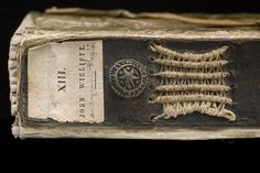 """""""Kopert"""" or limp vellum binding (Title) –  Limp vellum binding with a reinforced spine of brown leather. Prague 1398. The manuscript is doubtless part of the spoils from the storming of Prague in 1648. –  National Library of Sweden"""