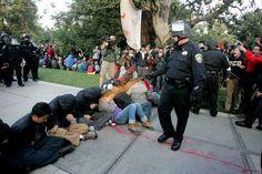 pepper spray at UC Davis. Despicable