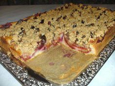 Rezept: Pflaumenkuchen vom Blech mit Zimtstreuseln Bild Nr. 5