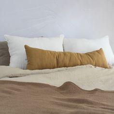 Saint Tropez, Bed Pillows, Pillow Cases, Curry, Home, Pillow Beds, Linen Pillows, Pillows, Curries