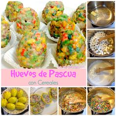 Una receta fácil para sorprender a los niños el domingo de pascua #recetas #pascua #huevosdepascua #eastereggs #easter #niños