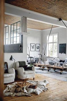 urban apartment ideas using ikea tables - Google Search