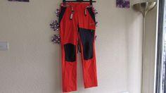 Lafuma Ladies /Mens Orange /Navy  Sports  Skiing Trousers  30 in waist   32 leg