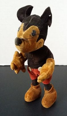 "1930s STEIFF Mickey Mouse 6"" Doll"