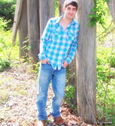 Senior Pictures boy
