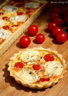 Tarte chèvre et tomates cerises  Picture / Amandine Cooking / Copyright © 2014