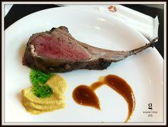 Lamb chop at the Sunday brunch, Up & Above, Okura Prestige Bangkok
