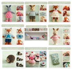 Patterns for sale - Little Cotton Rabbits