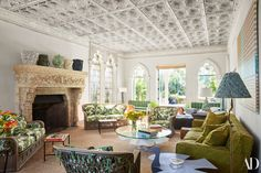 This Jacques Grange Designed Home Is Palm Beach Paradise Pertaining To Jacques Grange Beach Living Room, Living Room Decor, Living Rooms, Palm Beach Decor, Beach Design, Interior Design Companies, Contemporary Interior Design, Florida Home, Architectural Digest
